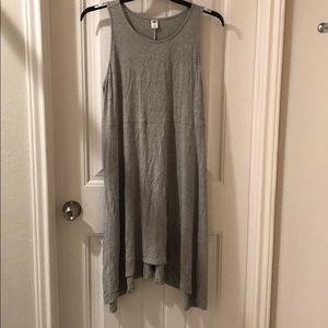 Old Navy Shark Bite Grey Jersey Dress 1x